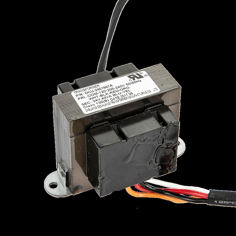 Input 120/208/240VAC Output 24VAC 40VA Transformer
