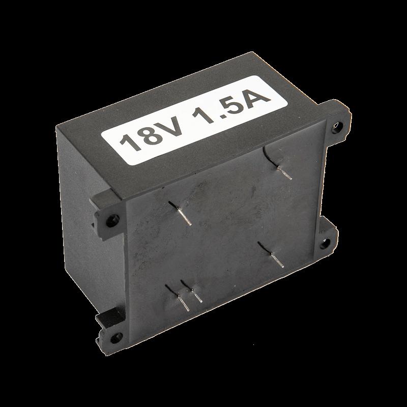 Input 240VAC Output 18VAC 27VA Transformer