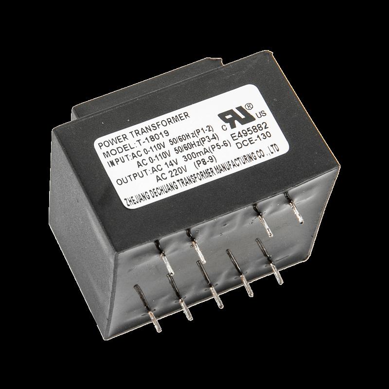 Input 110VAC Output 14VAC 6VA Transformer