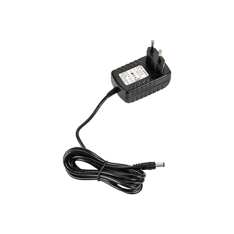 CE GS Certificate EU Plug 12VDC 2.0A Switching Power Adapter