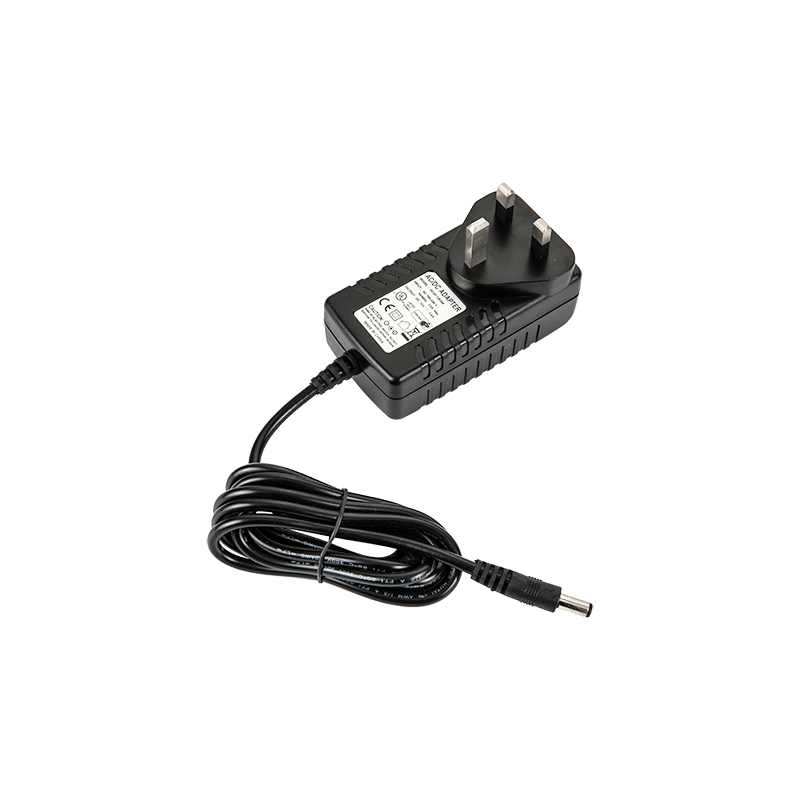 CE GS Certificate UK Plug 24VDC 1.25A Switching Power Adapter