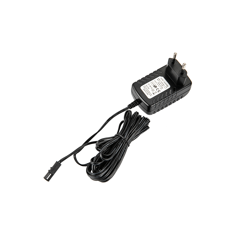 What is the standard and non-standard power adapter